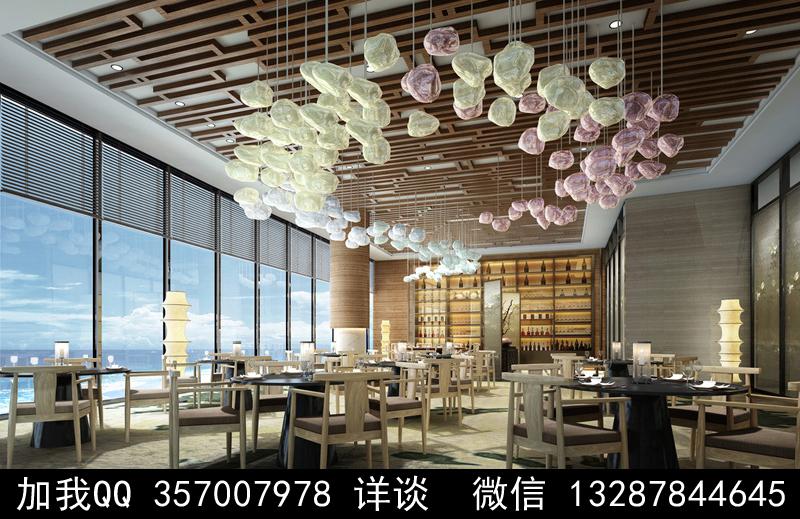 主题餐厅设计案例效果图_图1-24