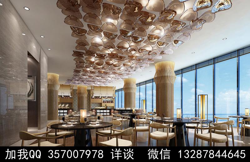 主题餐厅设计案例效果图_图1-23