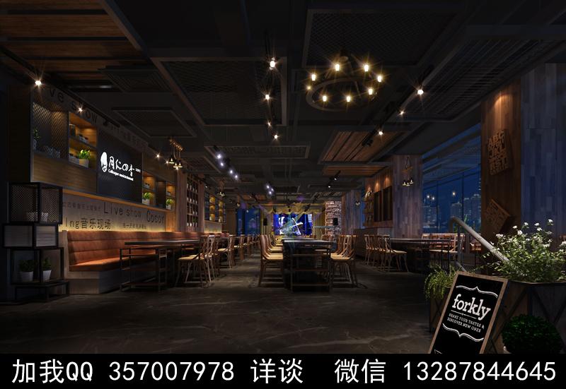 主题餐厅设计案例效果图_图1-15