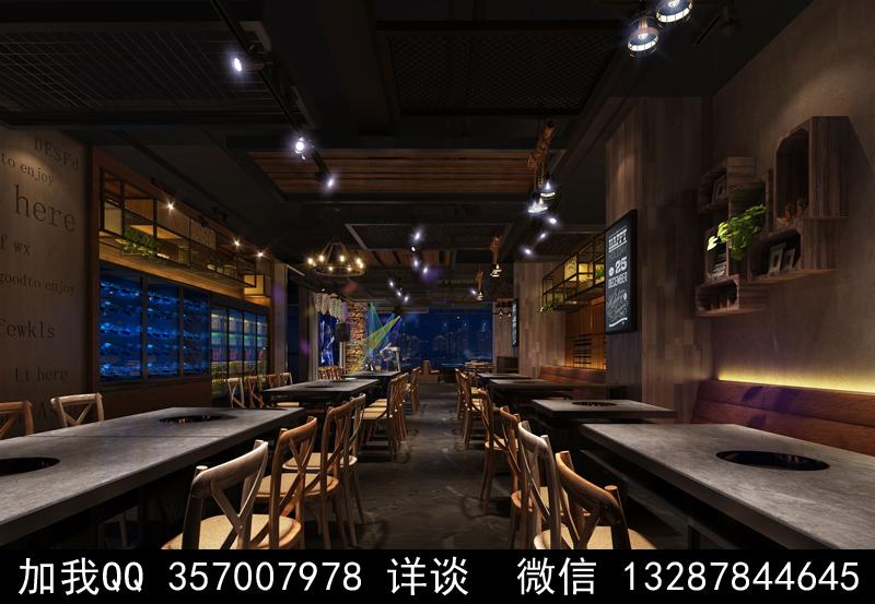 主题餐厅设计案例效果图_图1-14