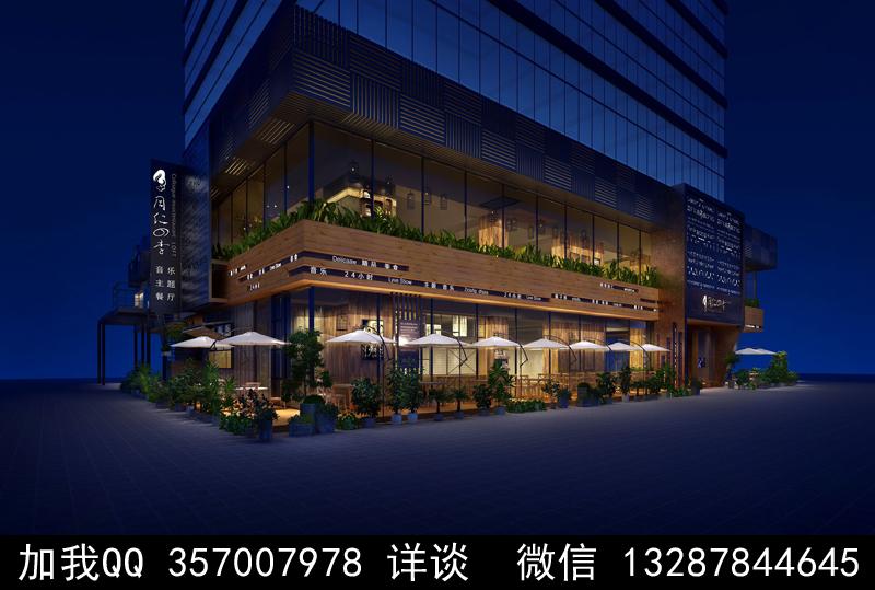 主题餐厅设计案例效果图_图1-13