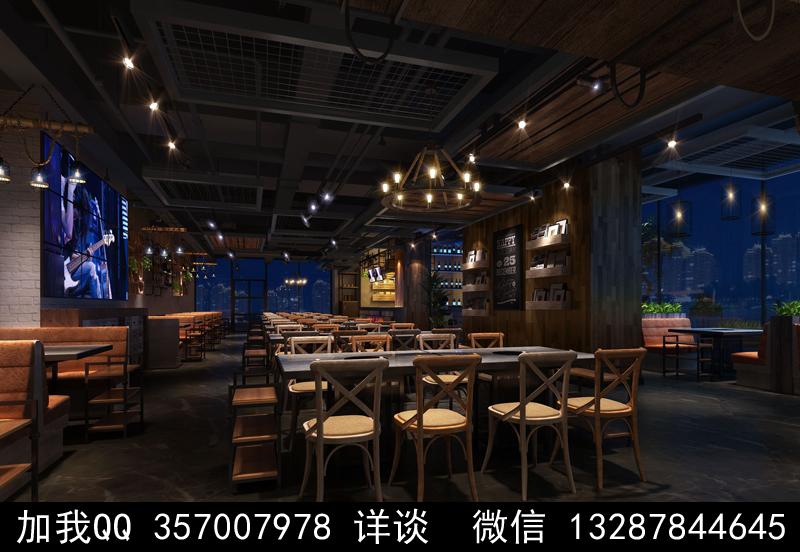 主题餐厅设计案例效果图_图1-12