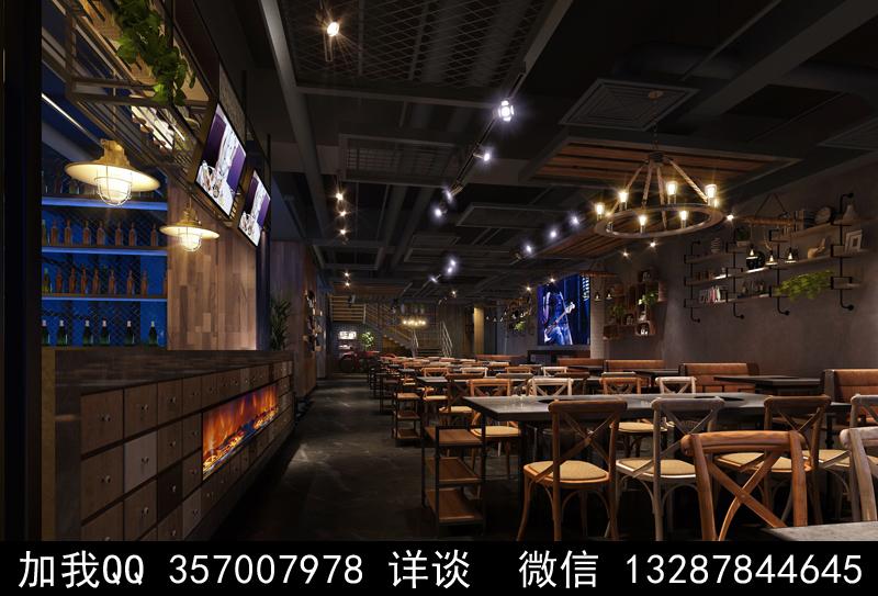 主题餐厅设计案例效果图_图1-11
