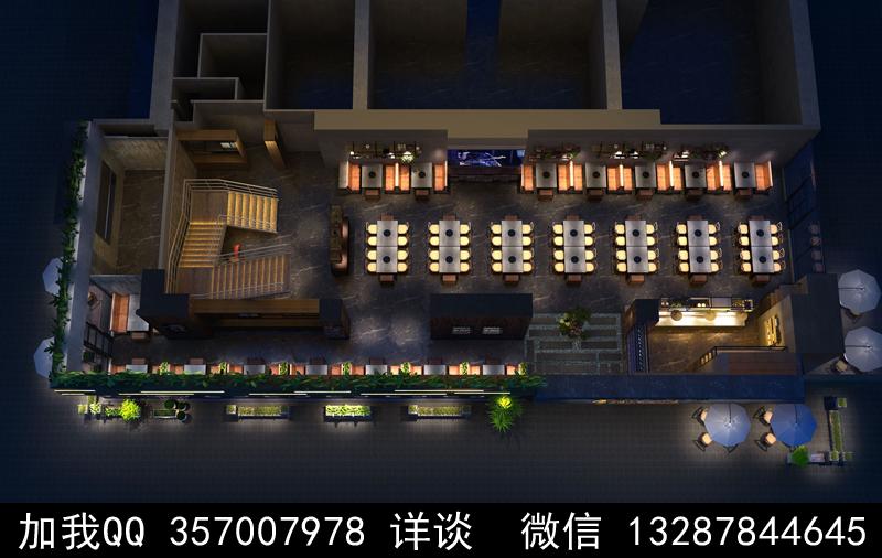 主题餐厅设计案例效果图_图1-6