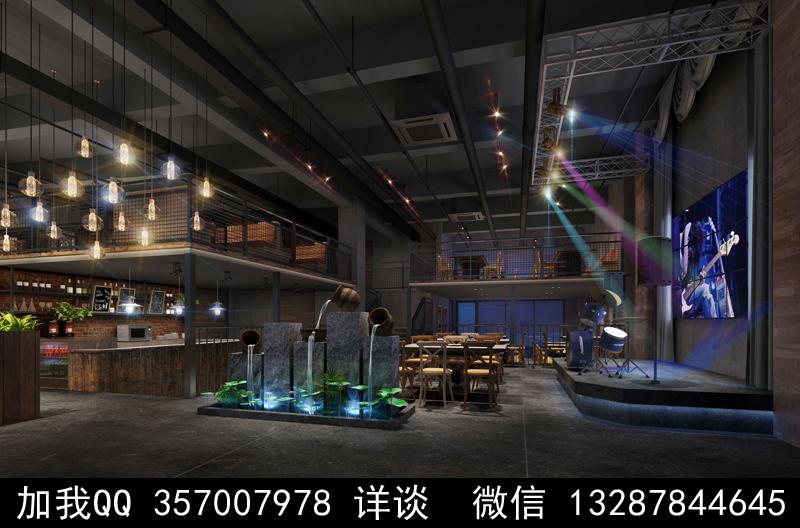 主题餐厅设计案例效果图_图1-7