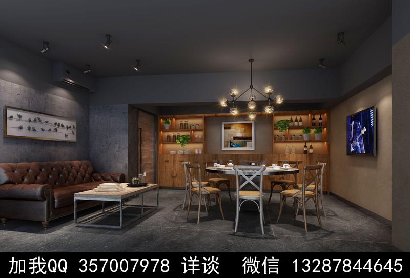 主题餐厅设计案例效果图_图1-8