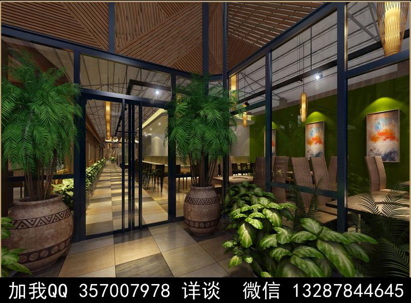 主题餐厅设计案例效果图_图1-10