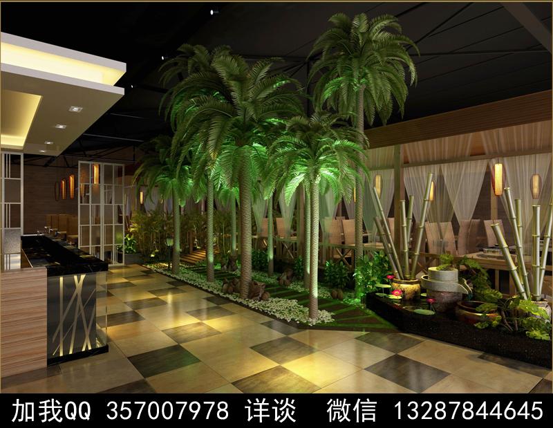 主题餐厅设计案例效果图_图1-3