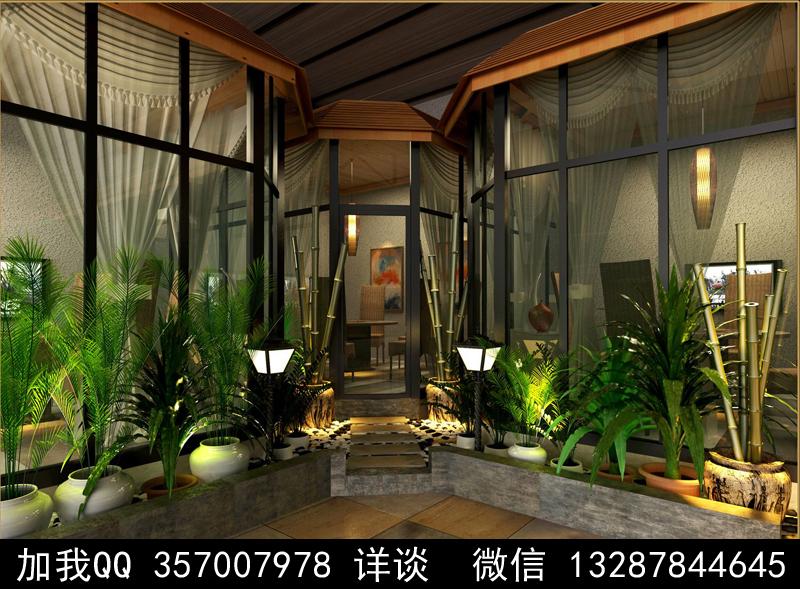 主题餐厅设计案例效果图_图1-1