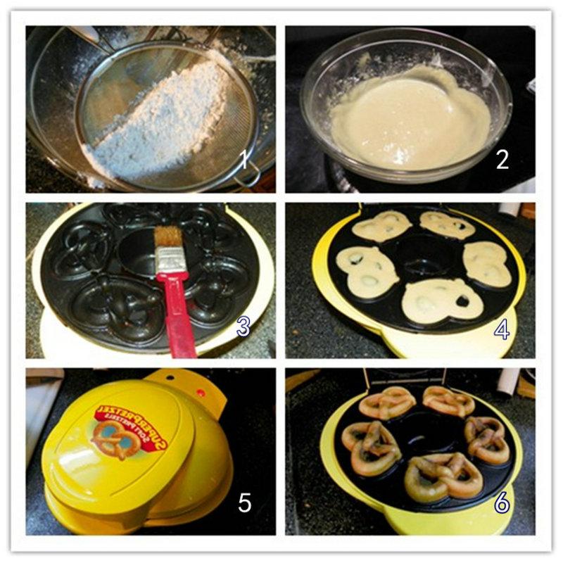 蛋奶蝶形卷饼Pretzel_图1-2