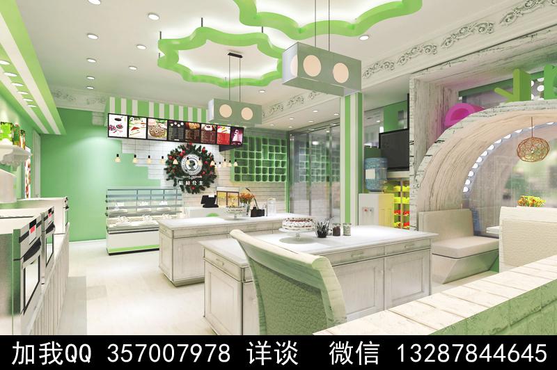 烘焙面包店设计案例效果图_图1-21