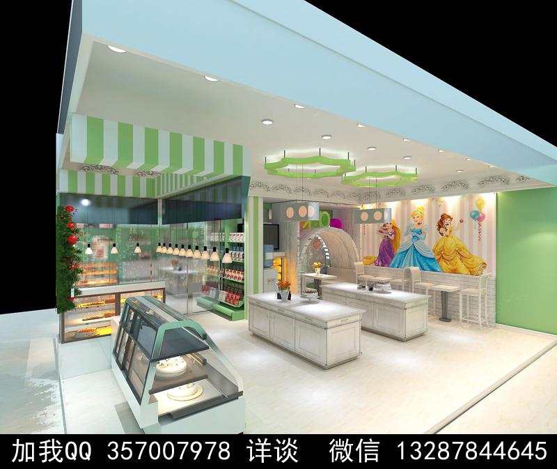 烘焙面包店设计案例效果图_图1-20