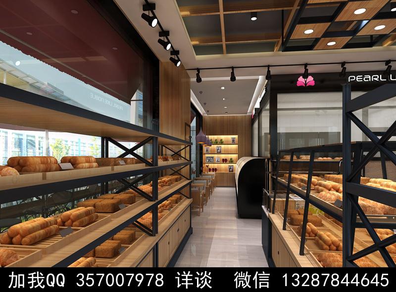 烘焙面包店设计案例效果图_图1-18