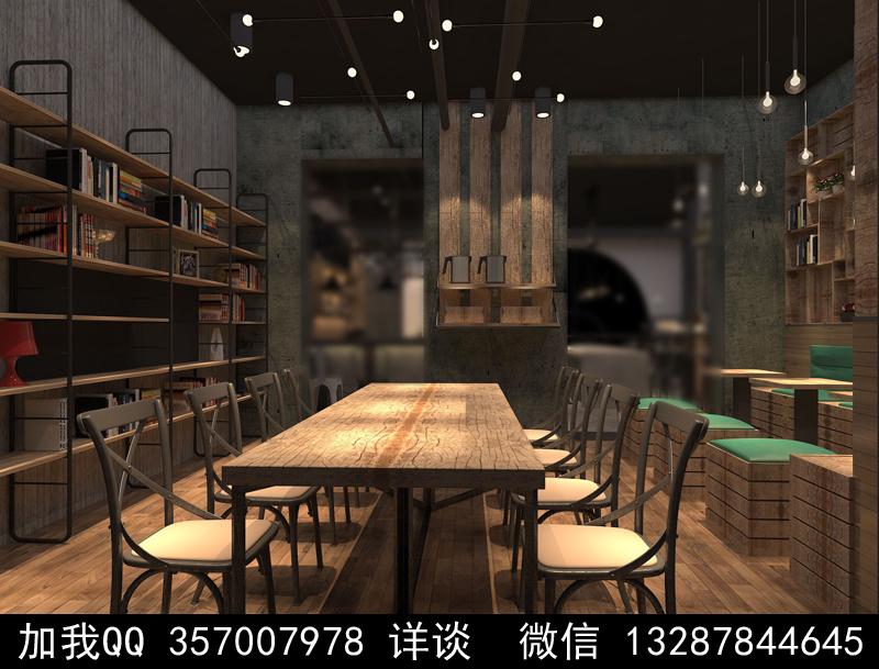 烘焙面包店设计案例效果图_图1-1