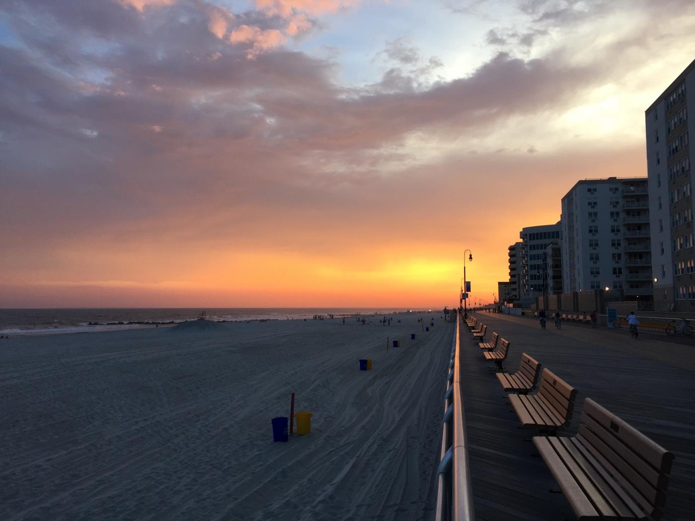 Long Beach 铺天盖地的晚霞(手机)_图1-2