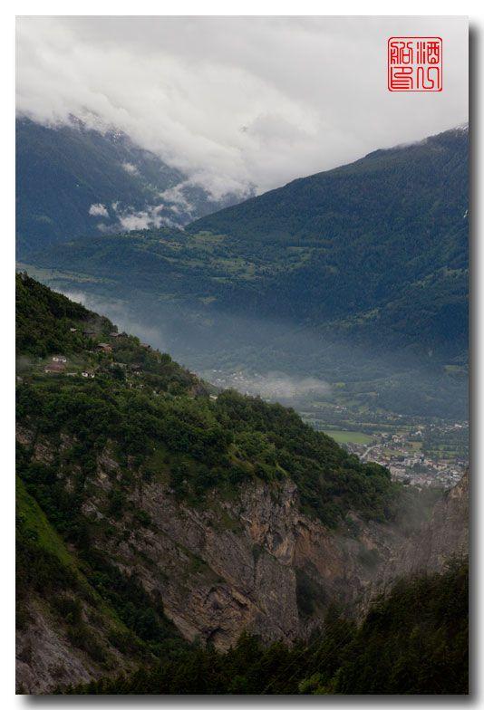 《酒一船摄影》:瑞士的温泉小镇:洛伊克巴德 (Leukerbad)_图1-3