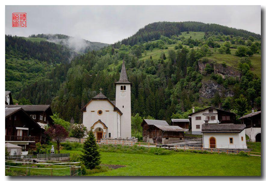 《酒一船摄影》:瑞士的温泉小镇:洛伊克巴德 (Leukerbad)_图1-5