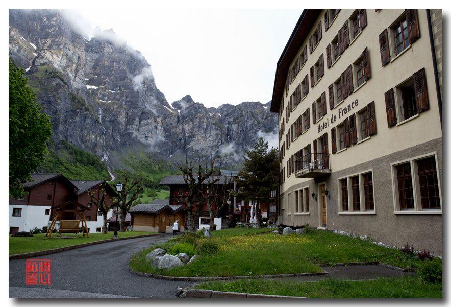 《酒一船摄影》:瑞士的温泉小镇:洛伊克巴德 (Leukerbad)_图1-8