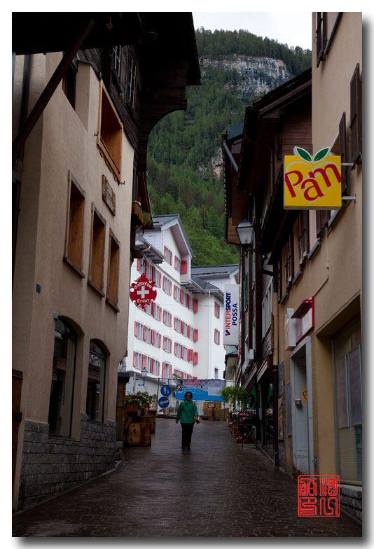 《酒一船摄影》:瑞士的温泉小镇:洛伊克巴德 (Leukerbad)_图1-9