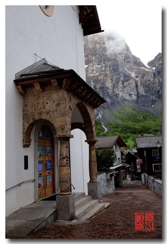 《酒一船摄影》:瑞士的温泉小镇:洛伊克巴德 (Leukerbad)_图1-12