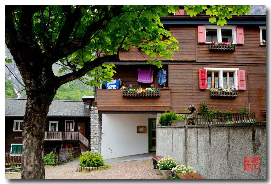 《酒一船摄影》:瑞士的温泉小镇:洛伊克巴德 (Leukerbad)_图1-17