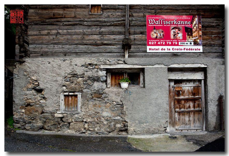 《酒一船摄影》:瑞士的温泉小镇:洛伊克巴德 (Leukerbad)_图1-23