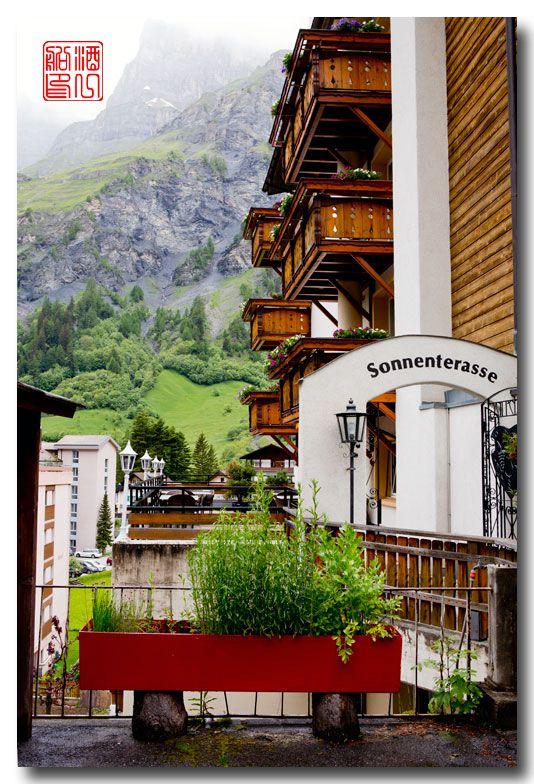 《酒一船摄影》:瑞士的温泉小镇:洛伊克巴德 (Leukerbad)_图1-30
