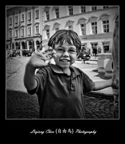 【自由鸟】街头的老老少少,德国帕萨见闻