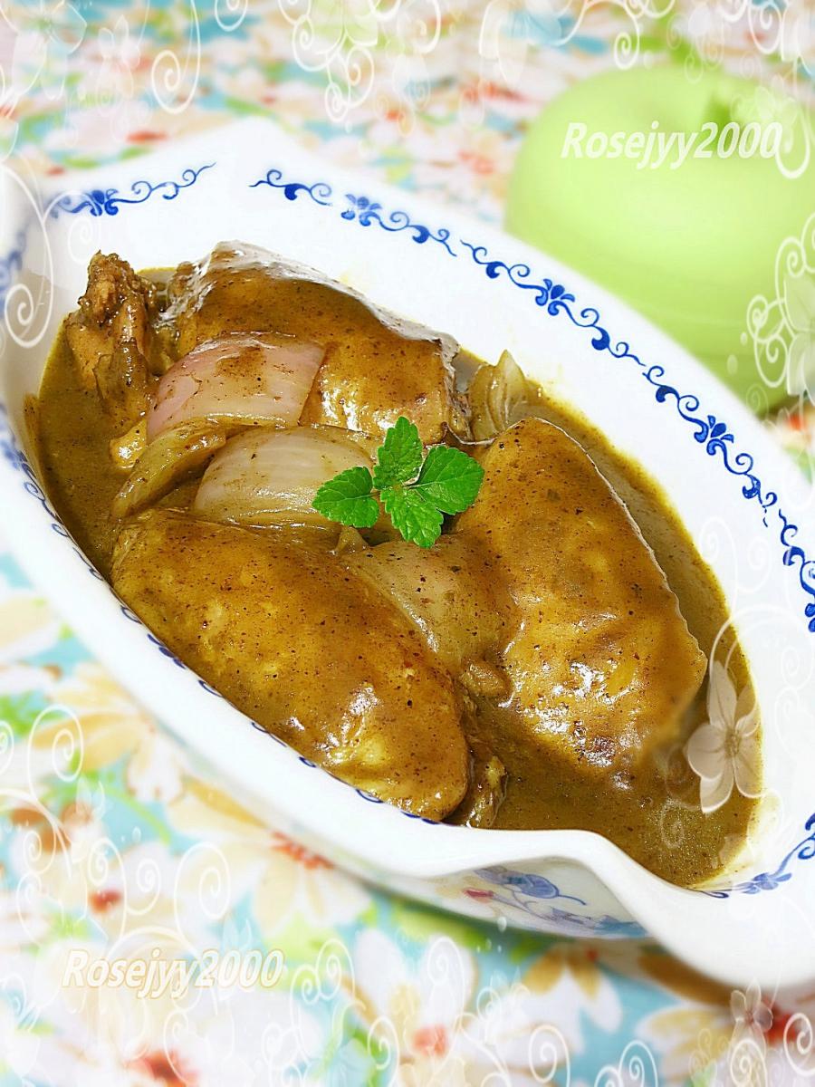 红咖喱鸡翅_图1-3