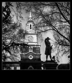 【自由鸟】记忆深处的那些费城雕像