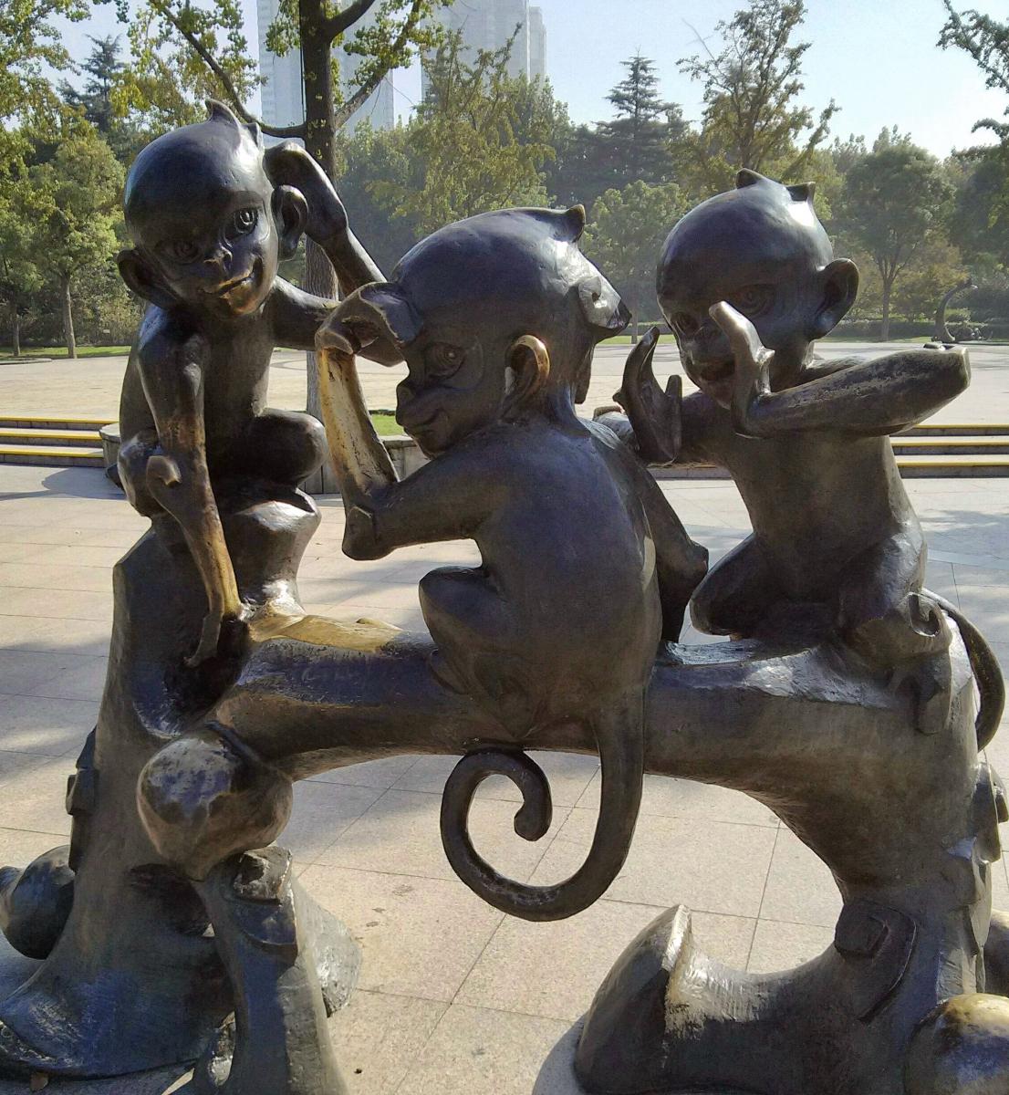 十二生肖铜雕像_图1-9