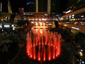 【汉良子】福州泰禾广场音乐喷泉(图)