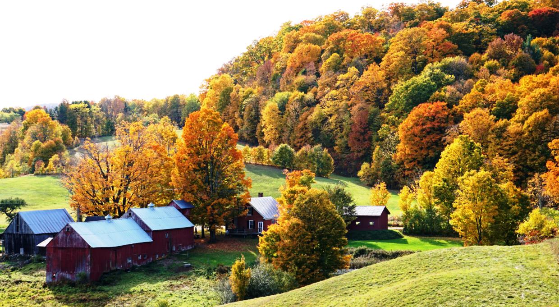 Vermount - 美国大农村的秋天好美!_图1-2