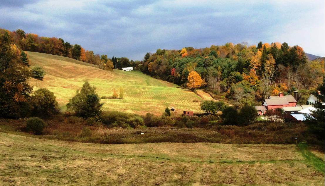 Vermount - 美国大农村的秋天好美!_图1-3
