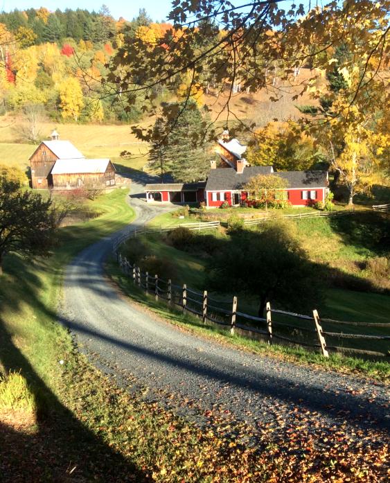 Vermount - 美国大农村的秋天好美!_图1-10