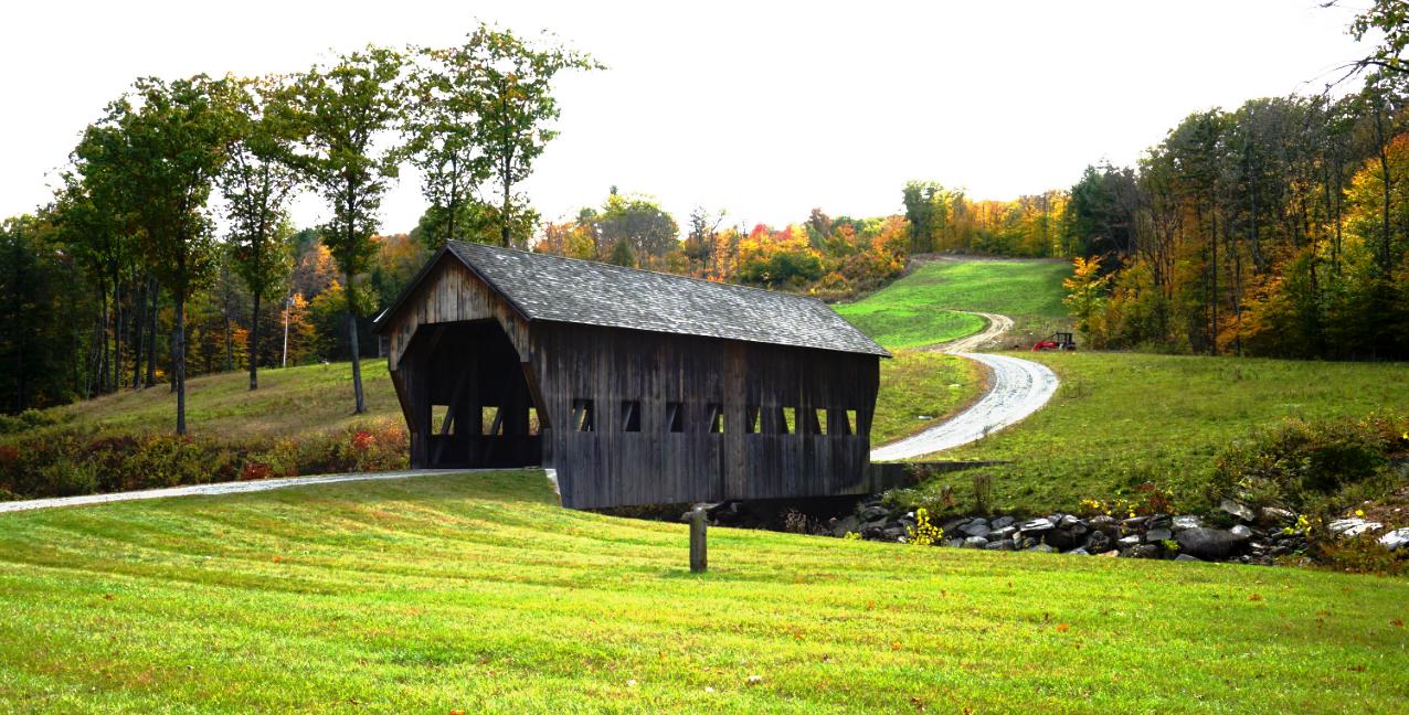 Vermount - 美国大农村的秋天好美!_图1-12