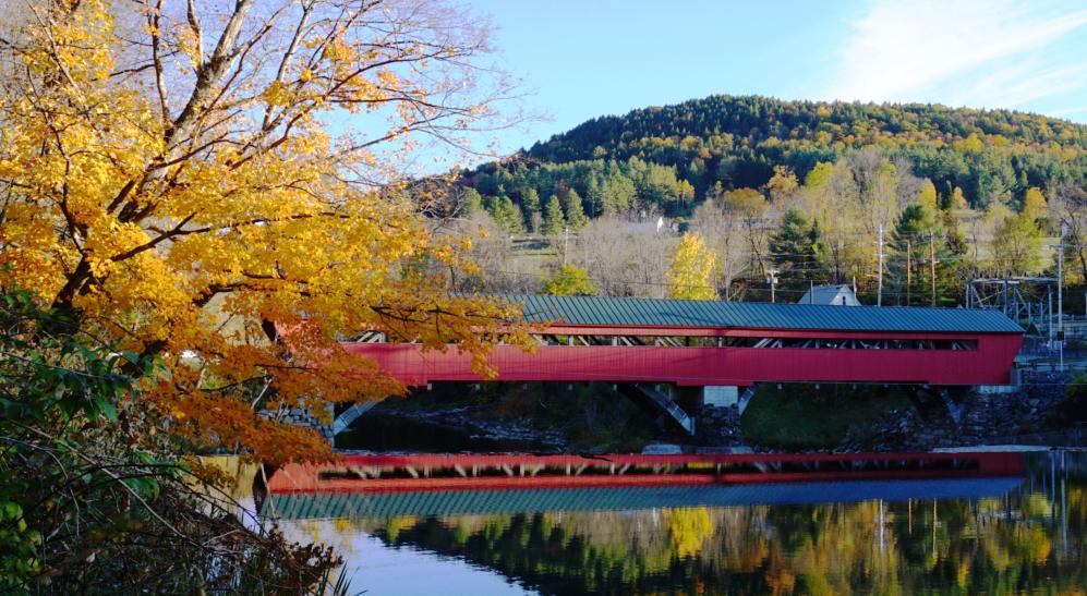 Vermount - 美国大农村的秋天好美!_图1-16