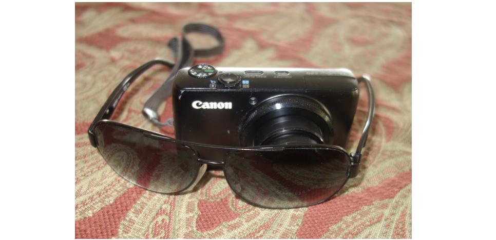 小窍门:给傻瓜相机或手机戴太阳眼镜_图1-3
