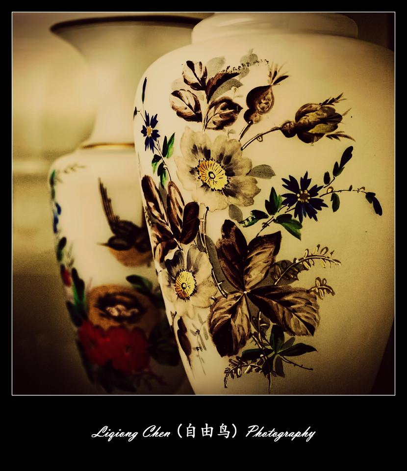 【自由鸟】美女花瓶,惟肖惟妙_图1-5