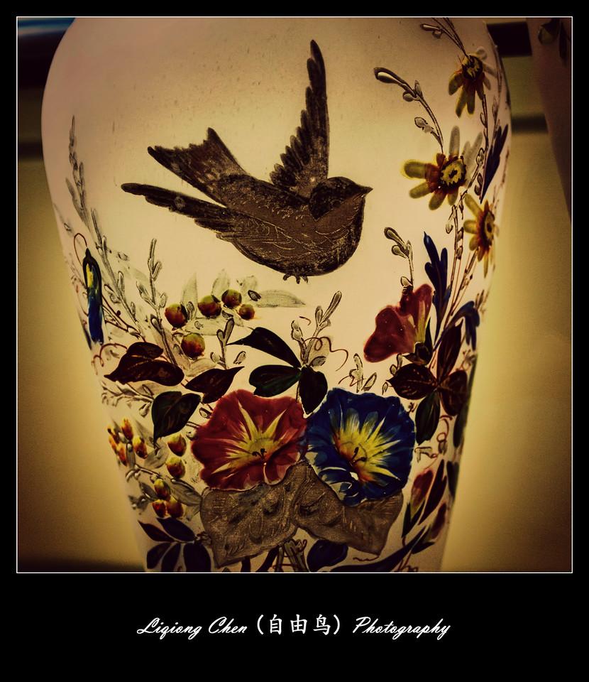 【自由鸟】美女花瓶,惟肖惟妙_图1-6