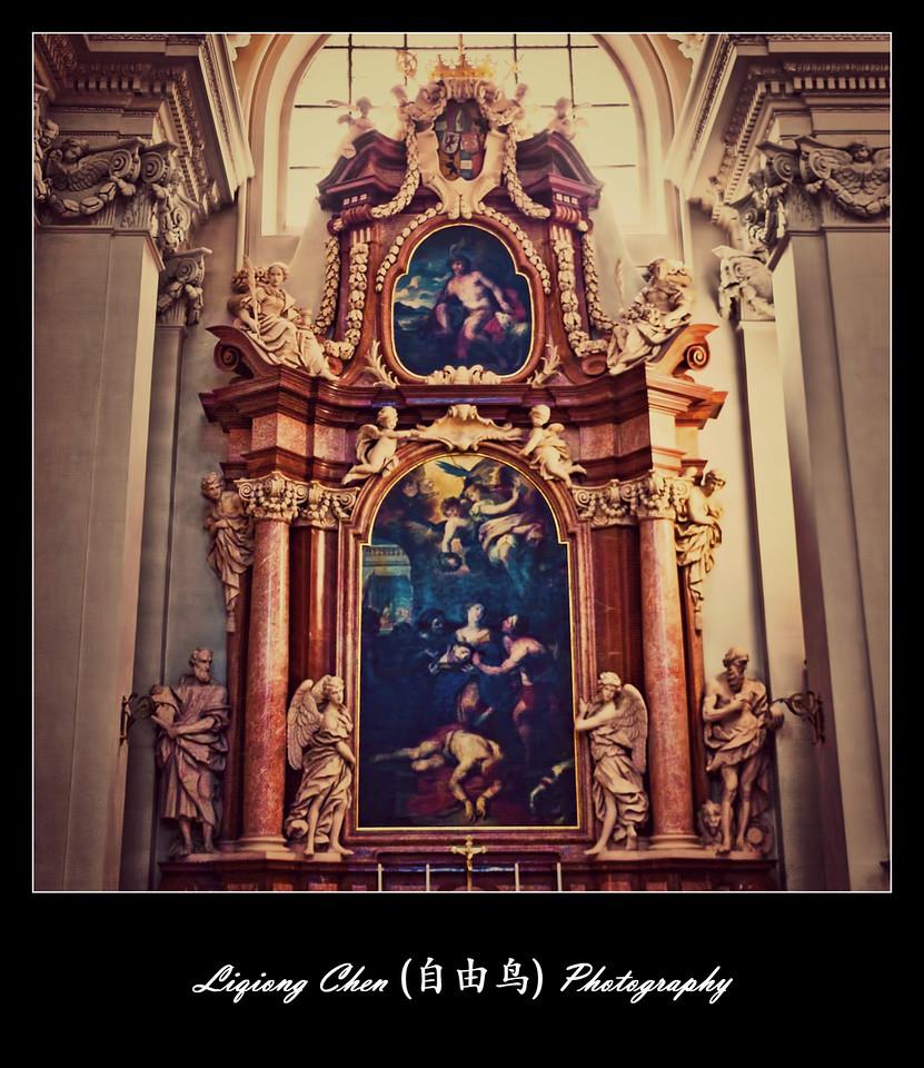 【自由鸟】德国帕紹,圣斯德望主教堂的内饰_图1-6