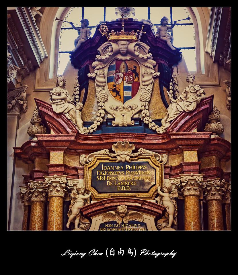 【自由鸟】德国帕紹,圣斯德望主教堂的内饰_图1-1