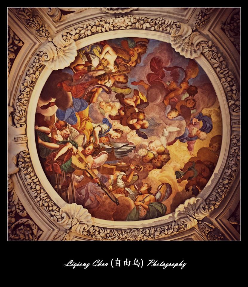 【自由鸟】德国帕紹,圣斯德望主教堂的内饰_图1-8