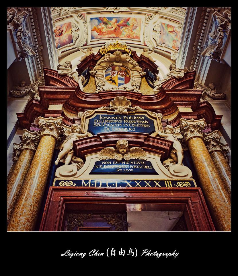【自由鸟】德国帕紹,圣斯德望主教堂的内饰_图1-9