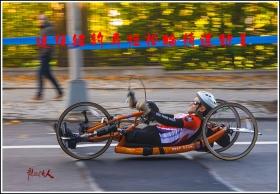 【龍的传人】追拍纽约马拉松的轮椅车运动员