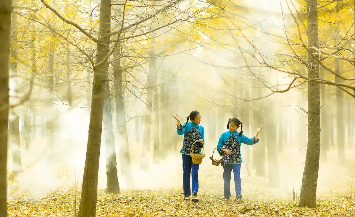 临沂又发现一摄影天堂 发现两位美丽小精灵_图1-12