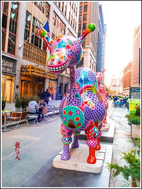 【龍的传人】42街街边艺术雕_图1-5