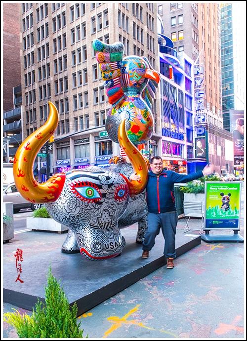 【龍的传人】42街街边艺术雕_图1-8