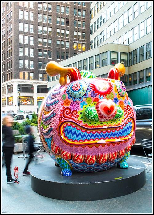 【龍的传人】42街街边艺术雕_图1-7