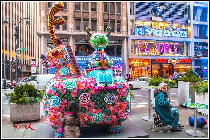 【龍的传人】42街街边艺术雕_图1-11